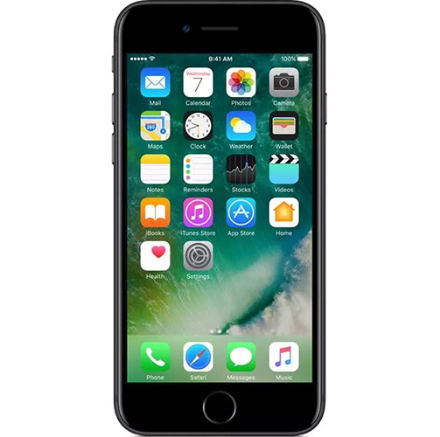 Picture of Apple iPhone 7 32GB - Matte Black - Unlocked   Refurbished Grade A